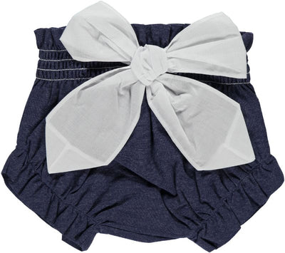 Bloomer Navy Blue with Bow - Eat Play Love