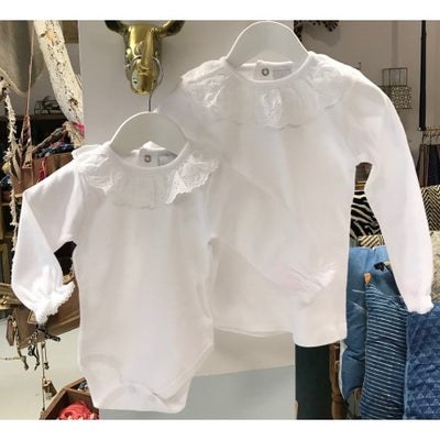 Broderie Anglaise T-Shirt - Eat Play Love