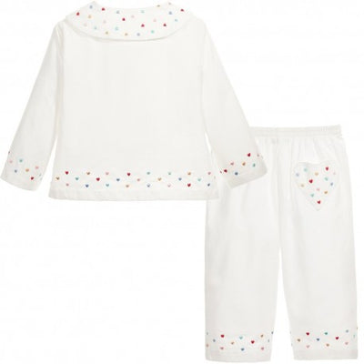 Girls Pyjamas Lola - Eat Play Love