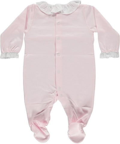 Babygrow Smock Pink - Eat Play Love