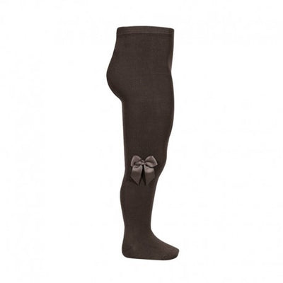 Condor Chocolate Tights with Bow - Eat Play Love