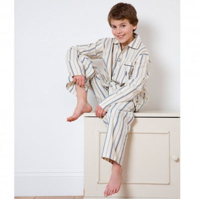Boys Pyjamas Henley - Eat Play Love