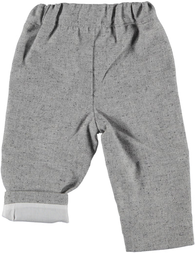 Paloma de la O Baby Pants Grey - Eat Play Love