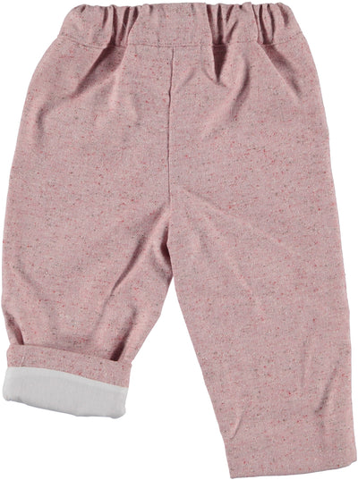 Paloma de  La O Pink Baby Pants Pink - Eat Play Love