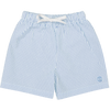 Canopea Biarritz Seersucker Stripy Swim Short light Blue 2 to 8y - Eat Play Love