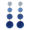 BonBon Earrings Blue Shades - Eat Play Love