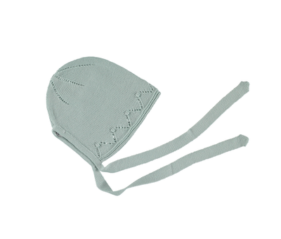 Paloma Baby Bonnet Mint - Eat Play Love