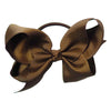 Glammrags Chocolate Big Bow Hair Tie - Eat Play Love