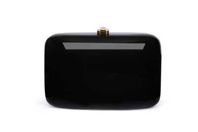 Clementine Clutch Midnight Black ROCIO - Eat Play Love