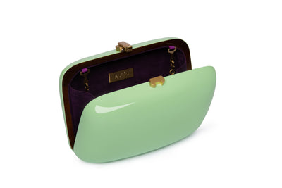 Clementine Clutch Pistachio ROCIO - Eat Play Love