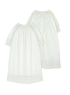 Bonnet a Pompon Baptism Gown and Bonnet - Eat Play Love