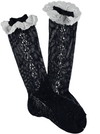 Condor Knee Socks with Broderie Navy - Eat Play Love