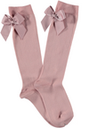 Condor Knee Socks with Bow Pink - Eat Play Love
