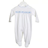 Babygrow Smock White - Eat Play Love