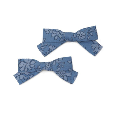 Liberty Hair Bows five/eleven Ocean - Eat Play Love
