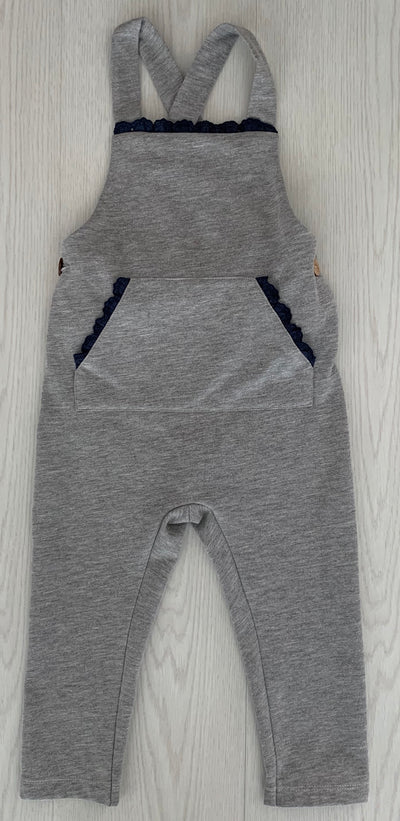 Laivicar Grey Boy Playsuit 12m-3 years - Eat Play Love