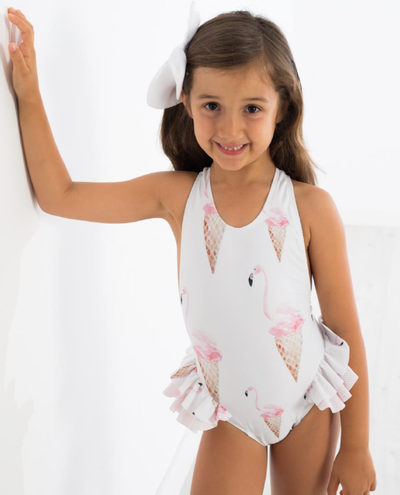 Meia Pata Swimsuit Icecream Bow - Eat Play Love
