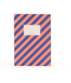 Notebook Stripes Blue/Pink - Eat Play Love