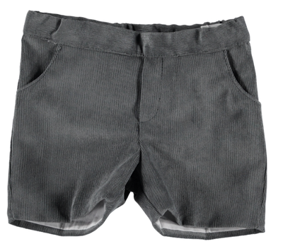 Corduroy Boys Shorts Grey - Eat Play Love