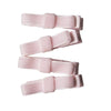 Pink Velvet Mini Bow Clips - Eat Play Love