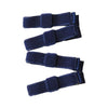 Velvet Mini Bow Clips Navy - Eat Play Love