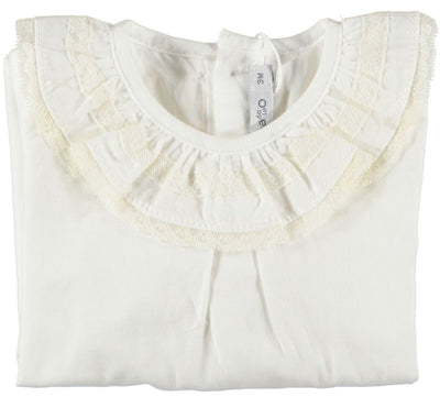 Baby Blouse Double Lace - Eat Play Love