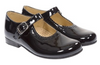 Mary Janes BLACK PATENT VELCRO STRAPS - Eat Play Love