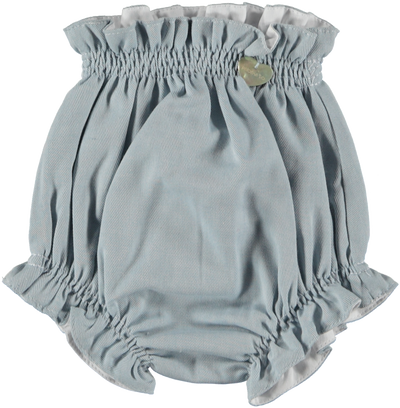 Paloma de la O Romper Soft Blue Collar - Eat Play Love
