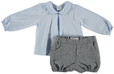 Paloma de la O Wool Bloomer Grey - Eat Play Love