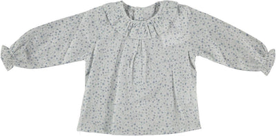 Paloma Baby Blouse Blue Flower - Eat Play Love