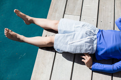 Canopea Turbot Sun Protective Top Indigo 2 to 8 years old - Eat Play Love