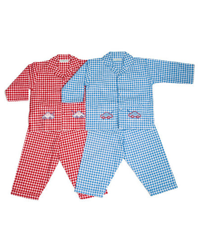 Boys Pyjamas Car Red - Eat Play Love