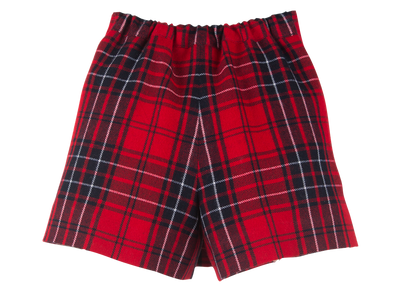 Red Tartan Skort - Eat Play Love