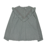 Bonnet a Pompon Grey Blouse - Eat Play Love