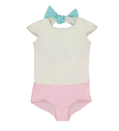 Canopea SPF50+ swimsuit bow - Eat Play Love