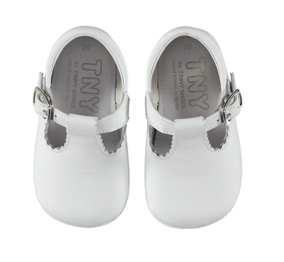 Baby Shoes White - Eat Play Love