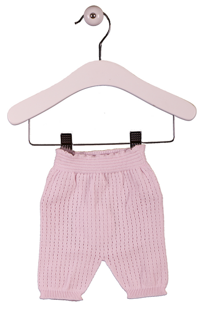 Wedoble Baby Knit Pants Pink - Eat Play Love