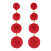 BonBon Earrings Red - Eat Play Love