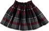 Tartan Tweed Skirt - Eat Play Love