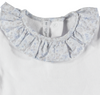 Paloma de la O Romper Grey/Pink Butterfly - Eat Play Love