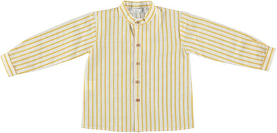 Paloma Boys Shirt Mustard - Eat Play Love