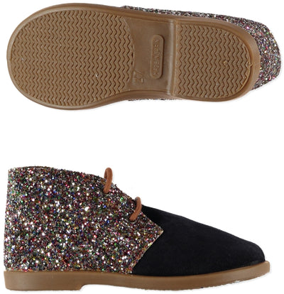 Glitter Shoes Navy - Eat Play Love