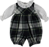 Tartan Romper - Eat Play Love
