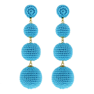BonBon Earrings Turquoise - Eat Play Love