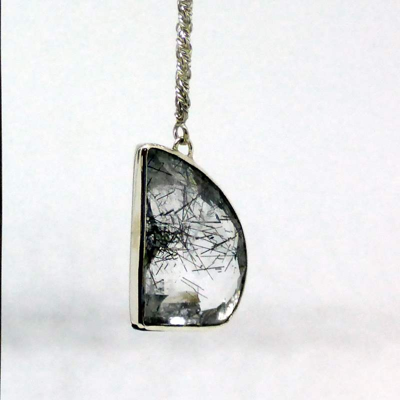 Sustainable Rutile Quartz Earrings Limited Edition
