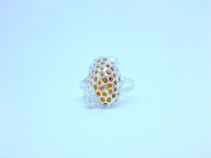 honeyedbee-cicelycliff-ethical-sustainable-jewelry-organic-ring-ethicaljewellery-luxury-limitededition-front
