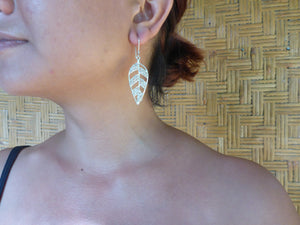 Woven Autumn Earrings