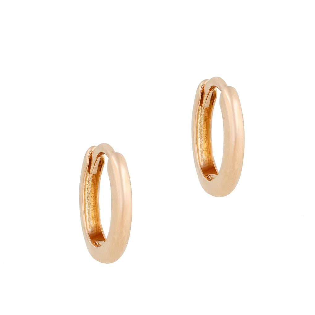 Gara Danielle 14k Yellow Gold Huggie Hoops