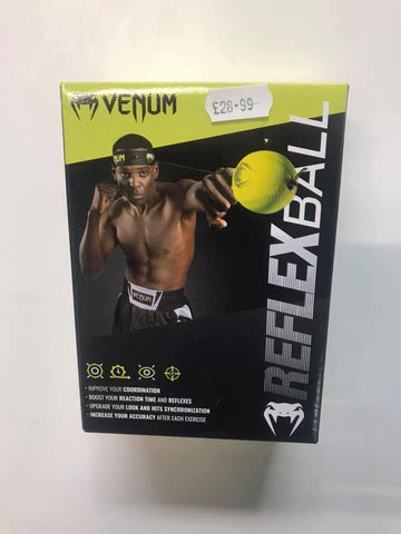 Venum reflex ball with adjustable headband.