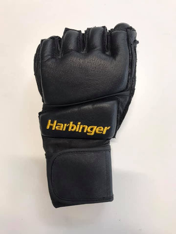 Harbinger wrist wrap bag gloves, good for kick boxing, martial arts and bag work.